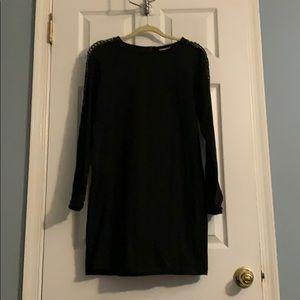 NWOT Anne Taylor Loft black shift dress